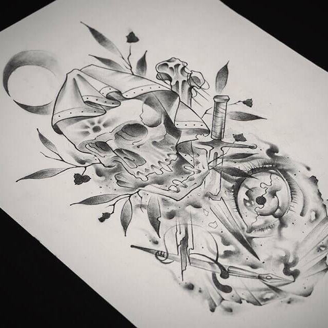 Как из сделать эскиз татуировки 74