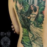 Символизм цвета в татуировке