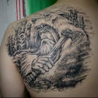 Татуировка славянского бога Велеса