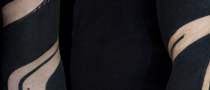 Татуировка мужская полинезия тату-рукав