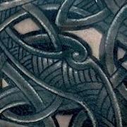 Татуировка мужская Black&Grey на груди кельтика