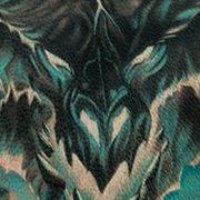 Татуировка женская хорор на спине World of Warcraft