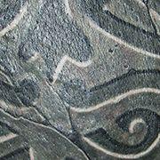 Татуировка мужская кельтика на лопатке орнамент