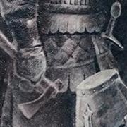 Татуировка мужская реализм на плече воин
