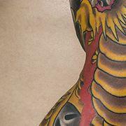Татуировка мужская япония рукав дракон