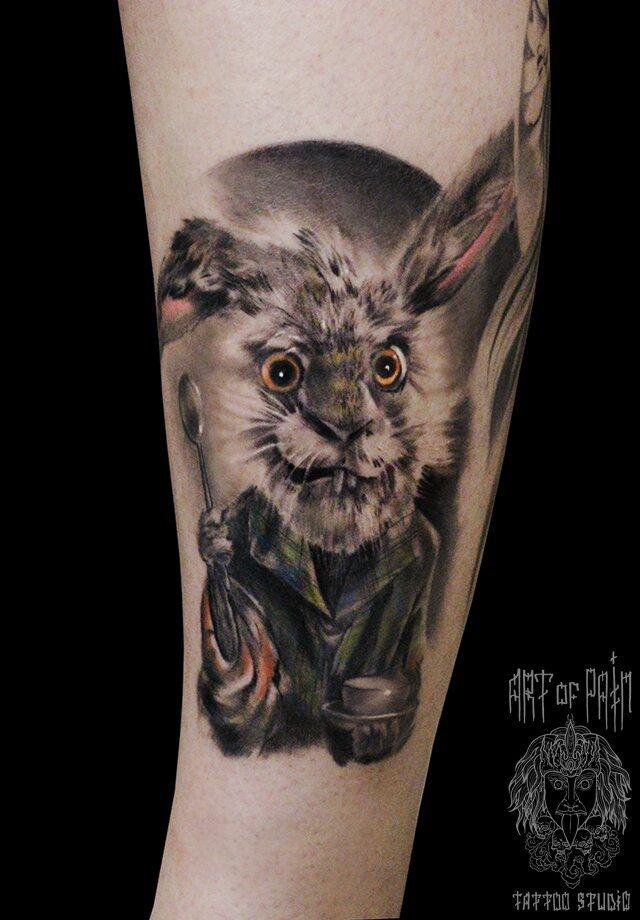 Татуировка женская фентези на предплечье животные – Мастер тату: Слава Tech Lunatic