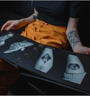 Создание эскиза татуировки