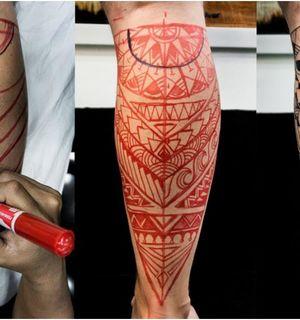Техника Freehand (фрихэнд) в татуировке