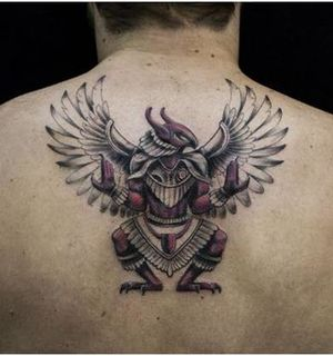 Татуировки по мотивам древнеегипетского пантеона: идеи и значение